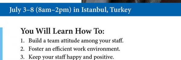 Communication, Teamwork, Leadership -- June 2010 (Istanbul, Turkey)